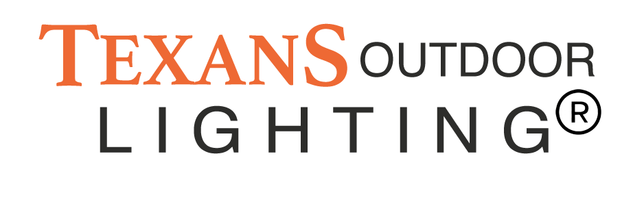Texans lighting landscape company logo